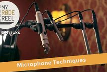 Microphone Techniques / The best microphone techniques for recording various instruments.
