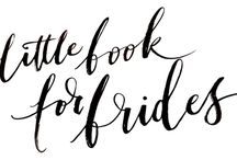 Little Book Wedding Directory - The best wedding suppliers in the UK / Little Book For Brides® is a stylish, curated wedding directory and sister site to Love My Dress®.