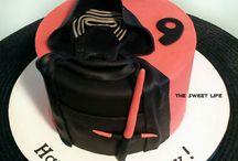 kylo ren cakes