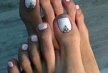 Νυχια ποδιών