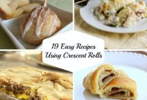 Crescent Rolls - Sweet / by Lisa Labelle