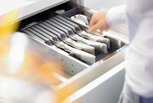 Innredning Sigdal kjøkken / Vi har mange smarte løsninger til ditt Sigdal kjøkken! Les mer her: http://www.sigdal.com/kjokken/tilbehor-kjokken/innredning/