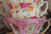 Lovely tea cups ~