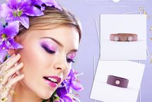 Fioletowe inspiracje na wiosnę / Biżuteria i nie tylko :)