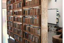 Librería pared