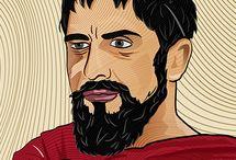 King Leonidas Digital Art.