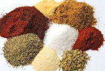 Spices, Sauces, Dips and Creams