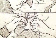 Goku y chichi