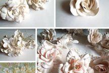 Plaster Artificial flowers