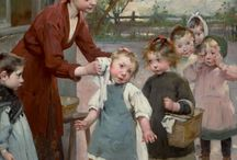 Henry Jules Jean Geoffroy  ..French 1853-1924