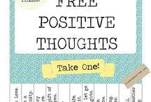 Positive board:)