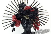 FALL HEADPIECES 2015 / HEADDRESSES BY MISS G DESIGNS