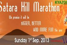 KyaZoonga.com: Register for the Satara Hill Marathon 2013