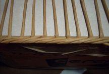 Basket kniting