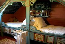 Bedrooms / by Jeanee Allen