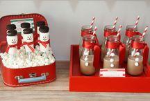 ( sweettable de noël ) / Sweet table de Noël / Christmas sweettable
