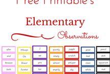 Montessori Elementary - Grammar