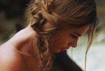 - Hair style -