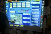 Smart board teaching