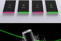 Pack - energy drink