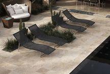 Terrastegels natuursteen
