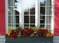 Window Boxes / Inspiration for decorating window boxes for every season / by Leah Taylor