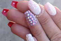 nails + art= nice