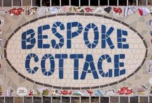 TomatoJack Arts: Numbers and Names / We currently have a distinctive style of house numbers and names incorporating vintage crockery with traditional mosaic tiles in colours of the clients choice...