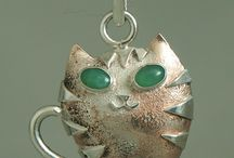 Silverkitten 's / cat theme jewellery