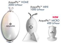 Structured Water Generators for Home & Business / AcquaPhi replicates the natural process through which nature transfers a full spectrum of energetic vibrational information to water.  It works on the electromagnetic component of water reorganizing the water clusters in a coherent state.