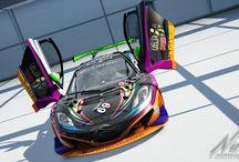 Deltec Racing Design Mclaren MP412c-GT3 / Deltec Racing Design Mclaren MP412c-GT3.