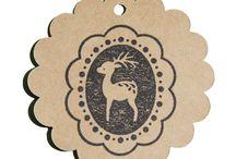 Tampons en bois / Tous les tampons indispensables pour vos projets de Scrapbooking et de carterie!