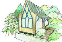 Plans de cabanes