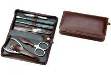 Leather Mens Manicure sets