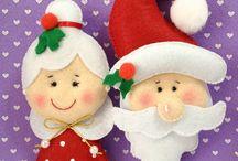 Natal em feltro