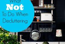 Organising & Decluttering