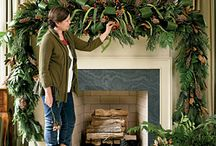 Christmas Decor - Mantles / Decorating the mantle for Christmas