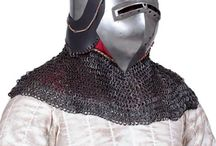 Armament / Medieval Armament, Chainmail aventail, Chainmail Coif, Chain mail