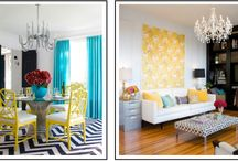 Splashes of color for the home / by Becki Motta