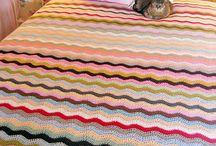 crochet: ripple blanket