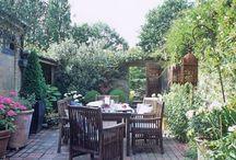 Ogródy balkony tarasy