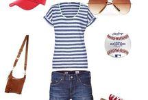 Boyfriend jeans & baseball tees. / by Amanda Dixon