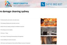 Professional Fire and Smoke Damage Cleaning Services in Sydney