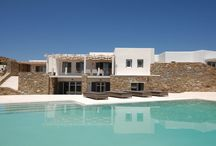 "Villa Gaias #Mykonos #Greece #Island / Villa Gaias is a luxurious high quality villa with private pool situated on the cliff of "" Elia "", 10 km from Mykonos Town ( "" Chora "" ) and 3km from the village of Ano Mera Traditional . Elle se trouve à quelques pas de la plage cosmopolite de ""Elia"", à 10 km de la ville de Mykonos (""Chora"") et à 3km du village traditionnel de Ano Mera. http://www.mygreek-villa.com/fr/rent-villa-search-2/villa-gaias"