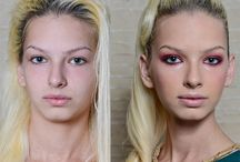 Before and After Make-up / by Diana Ionescu