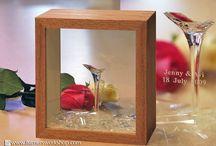 Wedding Celebration Framing / Framed Ketubahs, Wedding Invitations, Signature Mats, and Wedding Photos