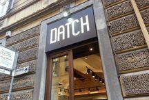 Shop Torino via Maria Vittoria / Pictures of Datch Torino Shop