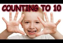 Counting Songs / Simple songs to make learning to count and numbers fun for children. Repetition is the key to help young children learn to recognize and associate numbers with words.