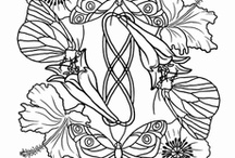 Coloring pages / colouring pages for adults