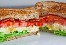 Food: Sandwiches, Burgers & Wraps / by Sara LaMothe
